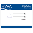 hwmonline data portal monitored by Utilities Manager